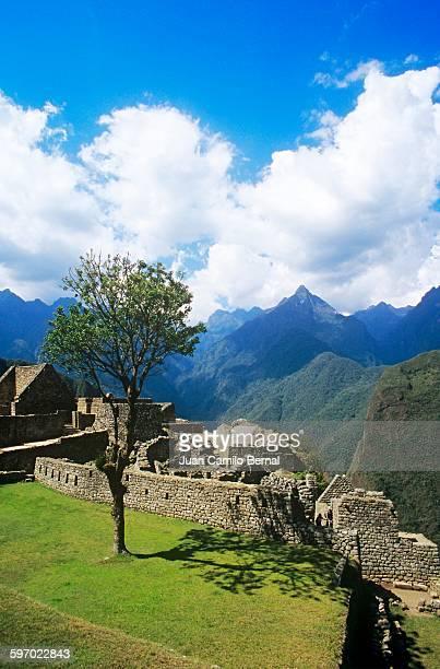 Machu Picchu ruins in Cuzco, Peru