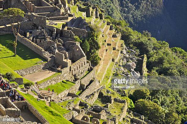 "machu picchu temple of the condor - ""markus daniel"" stock-fotos und bilder"