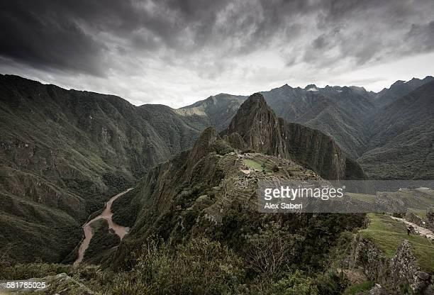 machu picchu , urubamba province , peru - alex saberi stock pictures, royalty-free photos & images