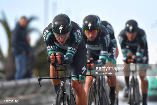 Maciej Bodnar of Poland and Team Bora - Hansgrohe / during the 54th Tirreno-Adriatico 2019, Stage 1 a 21,5km Team Time Trial stage from Lido Di...