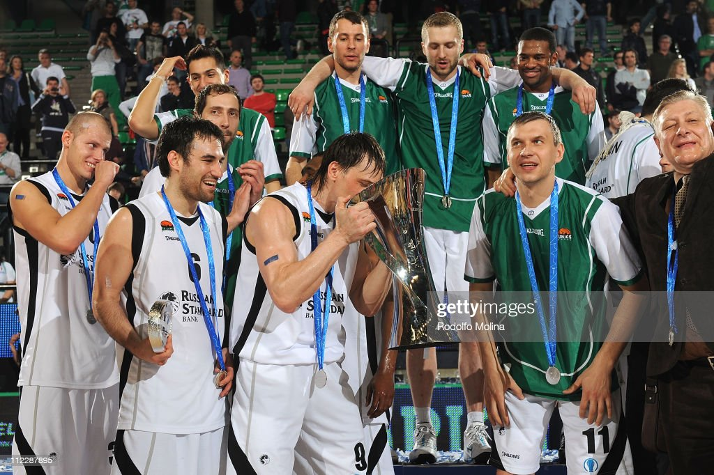 Champion Award Ceremony - EuroCup Basketball