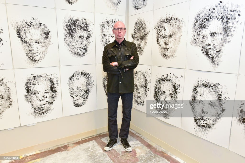 Maciej Toporowicz attends Spring Break Art Fair 2017 Vernissage at 4 Times Square on February 28, 2017 in New York City.