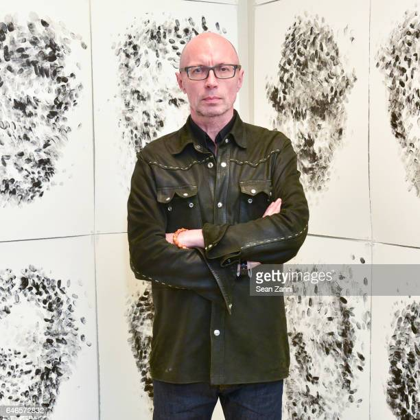 Maciej Toporowicz attends Spring Break Art Fair 2017 Vernissage at 4 Times Square on February 28 2017 in New York City
