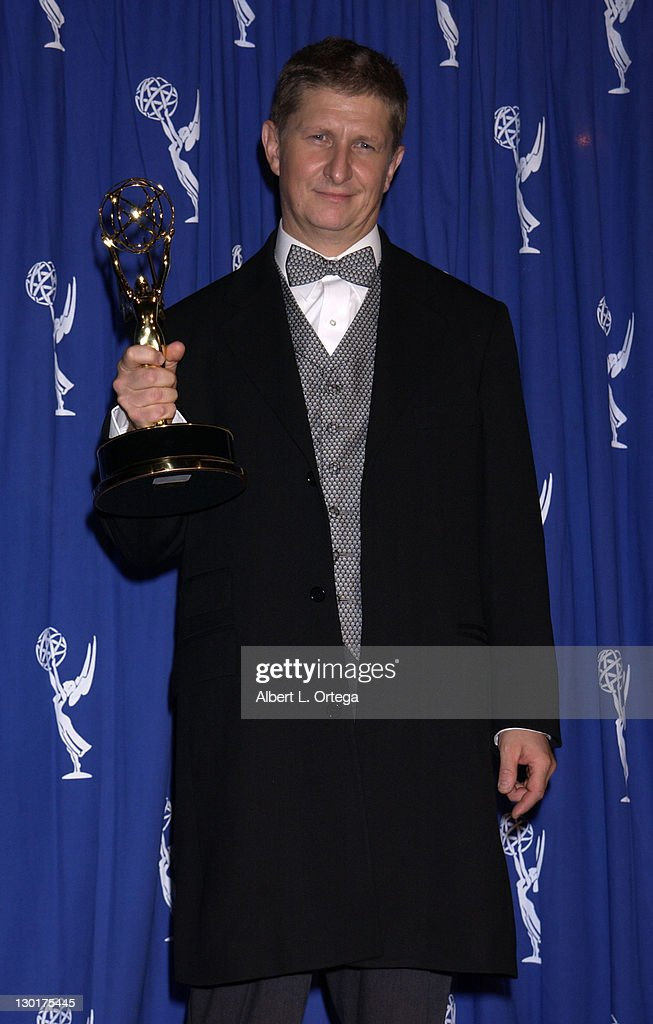 2002 Creative Arts Emmy Awards - Press Room : News Photo
