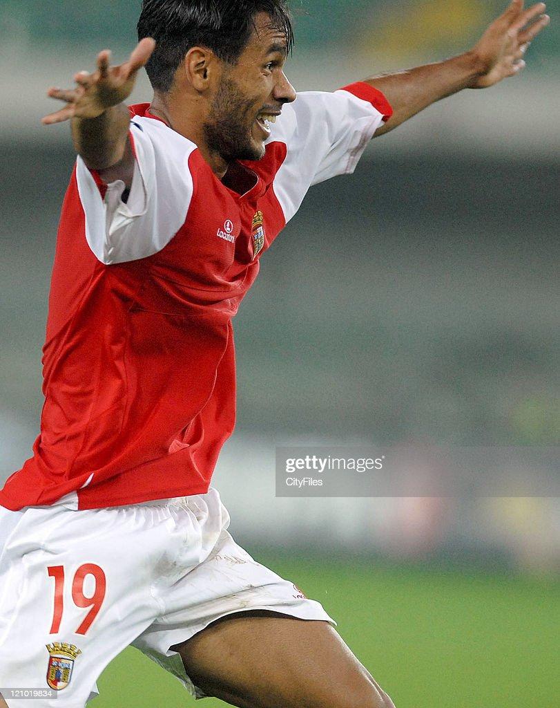 UEFA Cup - First Round Second Leg - AC Chievo Verona vs SC Braga - September 28, 2006 : ニュース写真