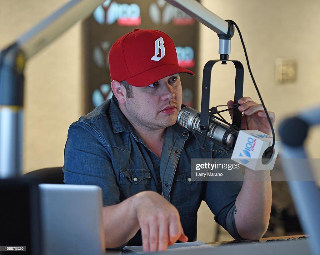 DJ Mack at Y-100 radio station on April 7, 2015 in Miami, Florida.