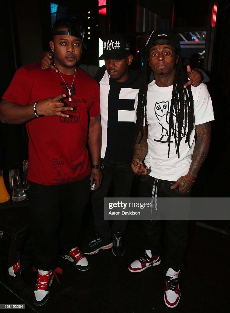Kendrick Lamar Hosts Bamboo Nightclub : News Photo