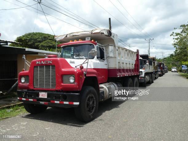 Mack Truck at a truck stop in Costa Rica 2018