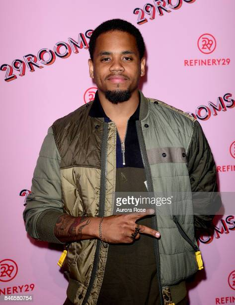 Mack Wilds attends Refinery29's '29Rooms Turn It Into Art' at 106 Wythe Ave on September 7 2017 in New York City