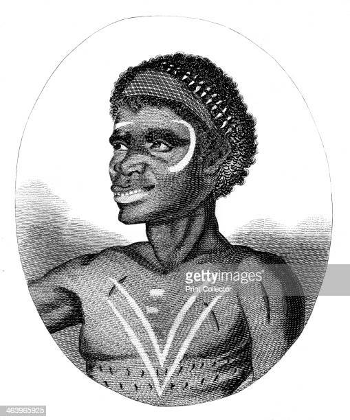 'Mackabarang' c1803 'A native of New South Wales and known in the Colony by the name of Broken Bay Jack'