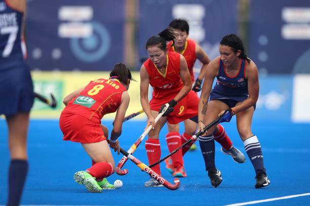 CHN: China v USA - Women's FIH Field Hockey Pro League