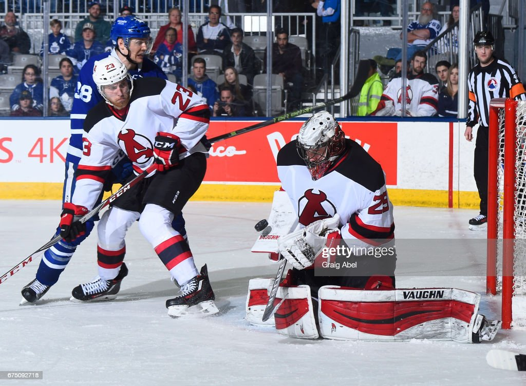 Albany Devils v Toronto Marlies : News Photo