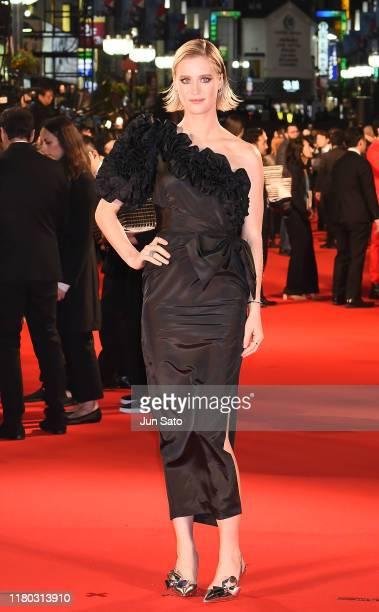 Mackenzie Davis attends the Japan premiere of 'Terminator Dark Fate' on November 6 2019 in Tokyo Japan