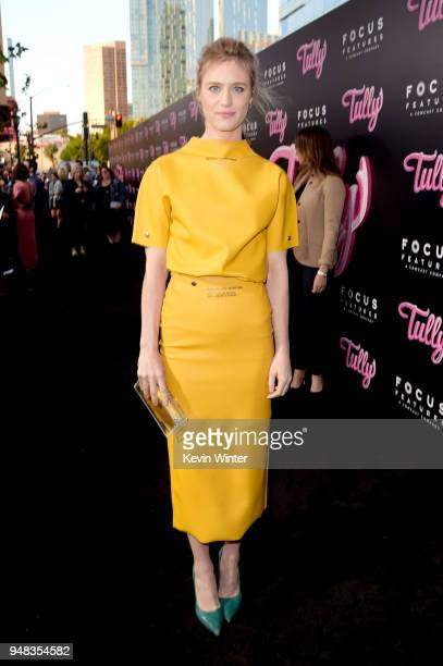 Mackenzie Davis attends the premiere of Focus Features' Tully at Regal LA Live Stadium 14 on April 18 2018 in Los Angeles California