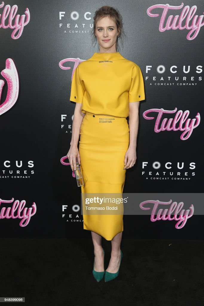 Mackenzie Davis attends the Premiere Of Focus Features' 'Tully' at Regal LA Live Stadium 14 on April 18, 2018 in Los Angeles, California.