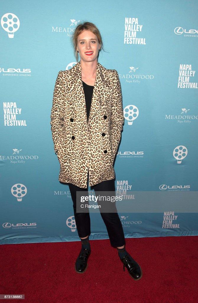 Mackenzie Davis attends the Red Carpet Festival Gala at CIA Copia during the 7th Annual Napa Valley Film Festival on November 11, 2017 in Napa, California.
