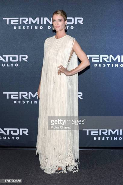 Mackenzie Davis attends the Terminator Dark Fate fan event at Toreo Parque Central on October 13 2019 in Mexico City Mexico