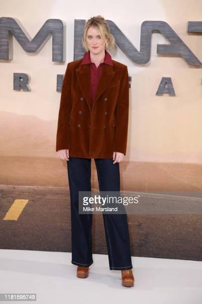 Mackenzie Davis attends the Terminator Dark Fate photocall on October 17 2019 in London England