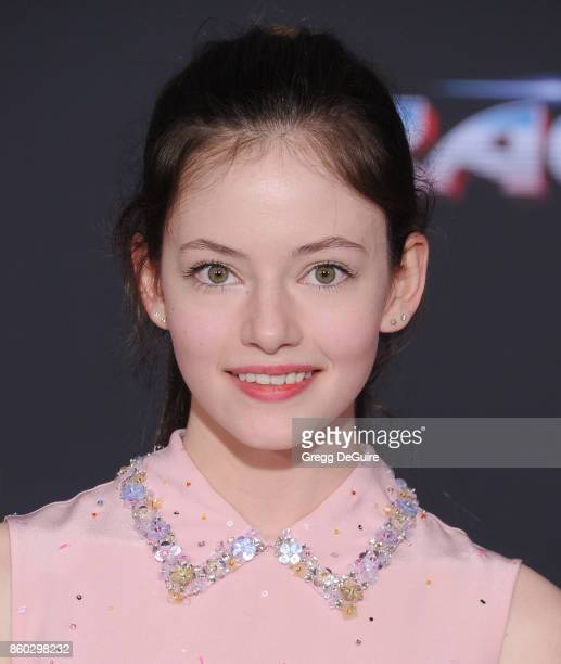 Mackenzie Foy arrives at the premiere of Disney and Marvel's Thor Ragnarok at the El Capitan Theatre on October 10 2017 in Los Angeles California