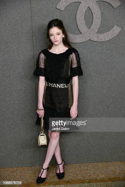 Mackenzie Foy attends CHANEL Paris New York Meitiers d'art 2018/19 Show at Metropolitan Museum of Art on December 4, 2018 in New York City.