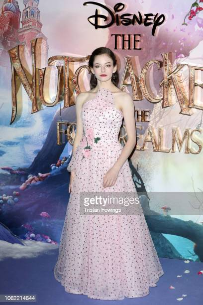 Mackenzie Foy attends the European Premiere of Disney's 'The Nutcracker' at Vue Westfield on November 01 2018 in London England