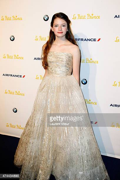 Mackenzie Foy attends 'The Little Prince' Party during the 68th annual Cannes Film Festival on May 22 2015 in Cannes France