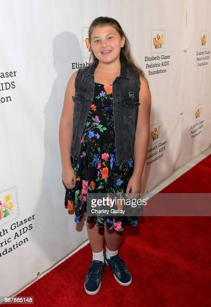 Mackenzie Hancsicsak at The Elizabeth Glaser Pediatric AIDS Foundation's 28th annual 'A Time For Heroes' family festival at Smashbox Studios on...