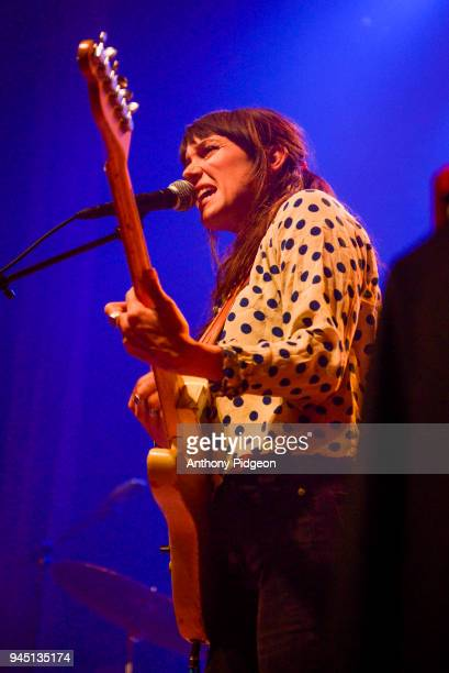 Mackenzie Howe of The Wild Reeds performs on stage at the Aladdin Theater in Portland Oregon United States on 8th March 2018