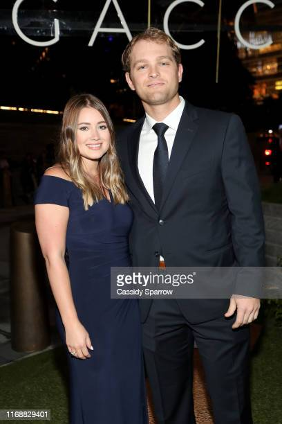 Mackenzie Klempnauer and Chance Adams attend The LegaCCy Gala at The Shed on September 16, 2019 in New York City.