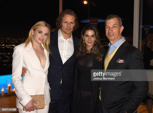 Mackenzie Mauzy Actor Sam Heughan International Marketing and Communications Director at Piaget Chabi Nouri and President of Piaget North America...