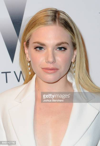 Mackenzie Mauzy attends a cocktail party to kickoff Independent Spirit Awards and Oscar weekend hosted by Piaget and The Weinstein Company on...