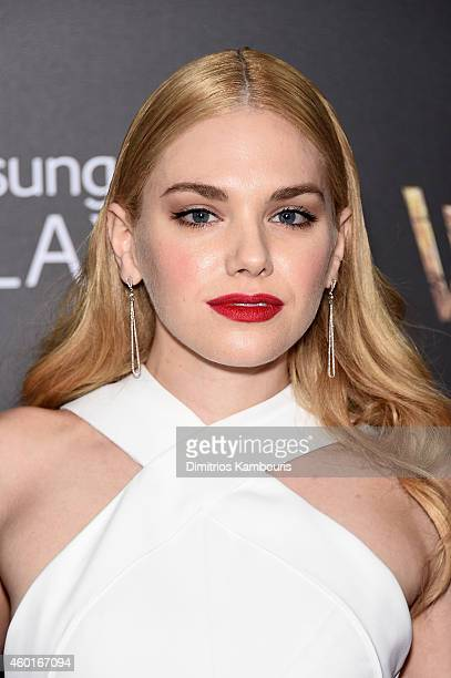 Mackenzie Mauzy attends the 'Into The Woods' World Premiere at Ziegfeld Theater on December 8 2014 in New York City