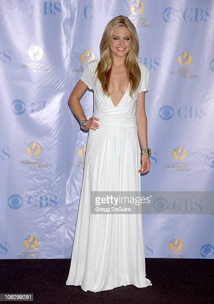 Mackenzie Mauzy presenter during 34th Annual Daytime Emmy Awards Press Room at Kodak Theater in Los Angeles California United States