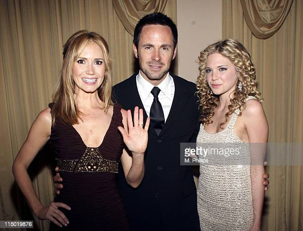 Mackenzie Mauzy William deVry and Ashley Jones during The 11th Annual PRISM Awards Arrivals at The Beverly Hills Hotel in Beverly Hills California...