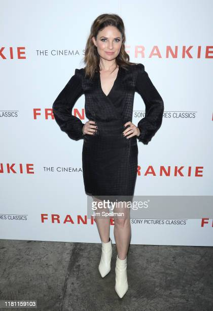 """MacKenzie Meehan attends the special screening of """"Frankie"""" hosted by Sony Pictures Classics and The Cinema Society at Metrograph on October 14, 2019..."""