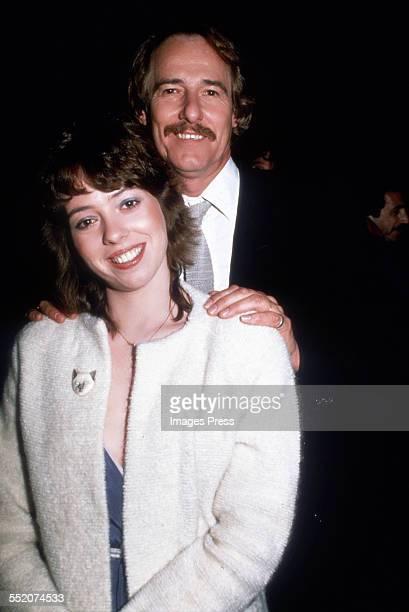 Mackenzie Phillips and father John Phillips circa 1981 in New York City