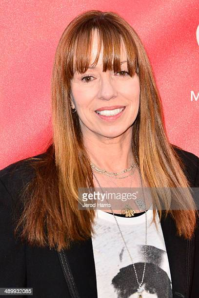 Mackenzie Phillips arrives at the 2014 MusiCares MAP Fund Benefit Concert at Club Nokia on May 12 2014 in Los Angeles California