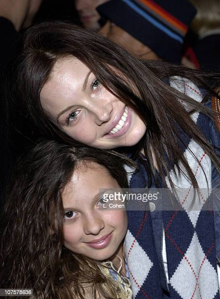 MacKenzie Rosman and Jessica Biel during HP and The Hollywood Reporter Celebrate The Future Through TV Film Arrivals and Party at Astra West in West...