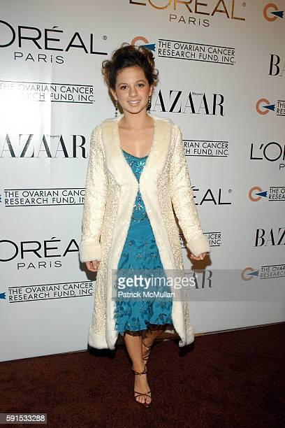 """Mackenzie Rosman attends L'Oreal Paris Presents """"As Seen In... Harper's Bazaar"""" To Benefit The Ovarian Cancer Research Fund hosted by Eva Longoria..."""