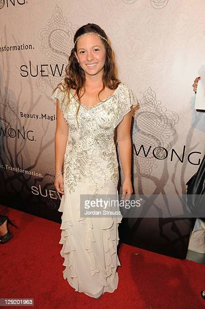 Mackenzie Rosman attends Sue Wong Presents Lady Or Vamp Spring 2012 Fashion Preview at Voyeur on October 13 2011 in West Hollywood California