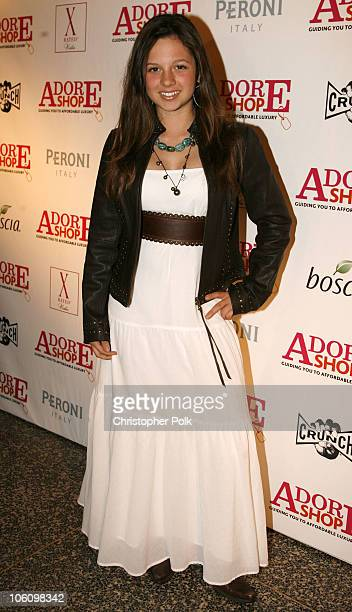 Mackenzie Rosman during Adore Shop Magazine Presents All The Things We Adore Fashion Show at Avalon Hollywood in Los Angeles California United States