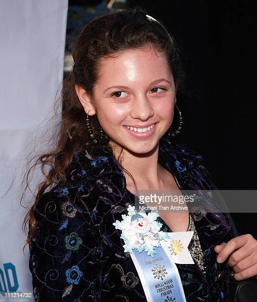 MacKenzie Rosman during The 74th Annual Hollywood Christmas Parade - Arrivals at Hollywood Roosevelt Hotel in Hollywood, California, United States.