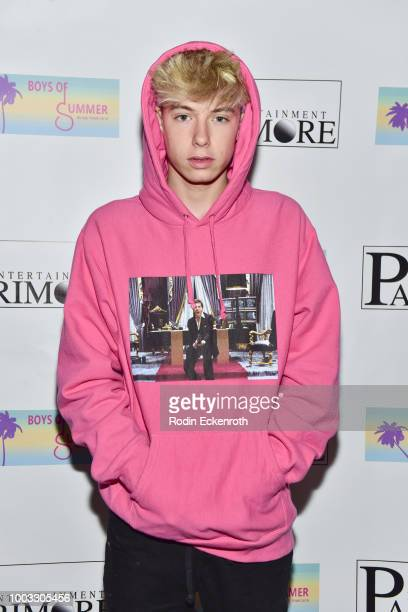 Mackenzie Sol attends the Boys of Summer Tour Kick Off Show at Whisky a Go Go on July 21 2018 in West Hollywood California