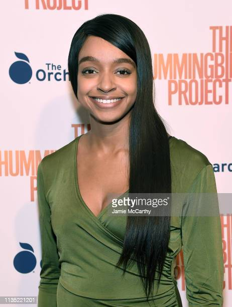 """Mackenzie Vickers attends """"The Hummingbird Project"""" New York Screening at Metrograph on March 11, 2019 in New York City."""