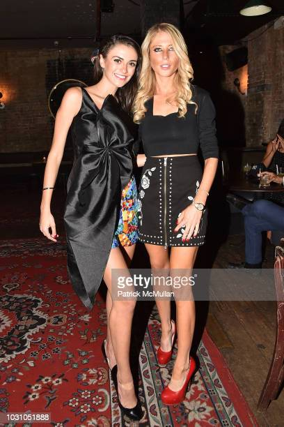 Mackenzie Wright and Samantha Gannaway attend the Nicole Miller Spring 2019 After Party at Acme on September 6 2018 in New York City