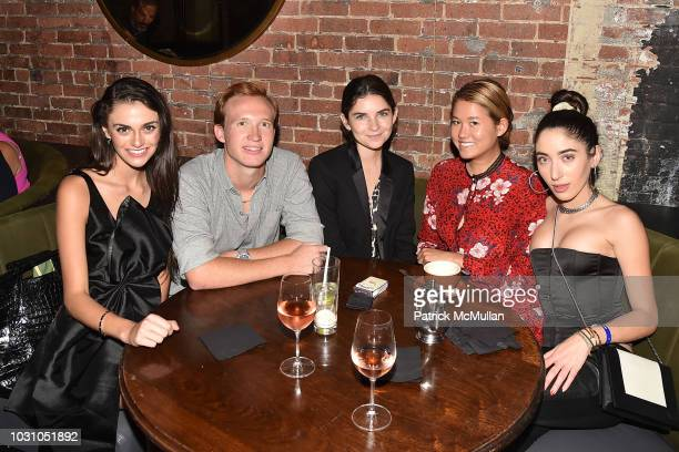 Mackenzie Wright Palmer Taipale Isabelle Brothers Storey Schifter and Spencer Malnik attend the Nicole Miller Spring 2019 After Party at Acme on...