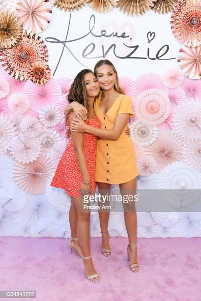 "Mackenzie Ziegler and Maddie Ziegler attend Mackenzie Ziegler Launches New Beauty Line ""Love, Kenzie"" on September 16, 2018 in West Hollywood,..."