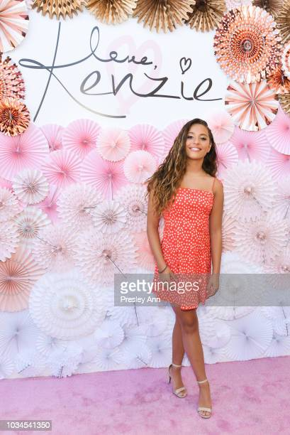Mackenzie Ziegler attends Mackenzie Ziegler Launches New Beauty Line 'Love Kenzie' on September 16 2018 in West Hollywood California