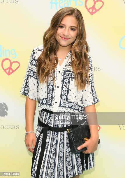 Mackenzie Ziegler attends the Children Mending Hearts 9th Annual Empathy Rocks Fundraiser on June 11 2017 in Beverly Hills California
