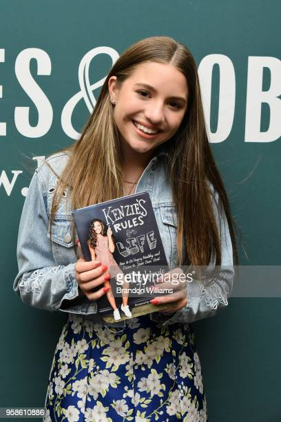 Mackenzie Ziegler celebrates her new book 'Kenzie's Rules for Life' at Barnes Noble at The Grove on May 14 2018 in Los Angeles California
